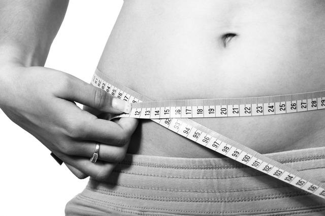 břicho, měření, hubnutí