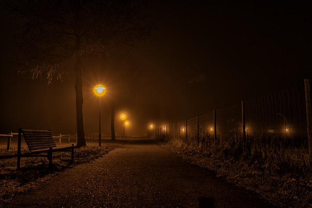pouliční světla