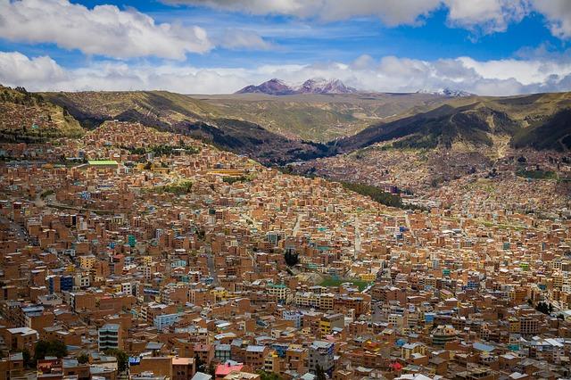 město Bolivie