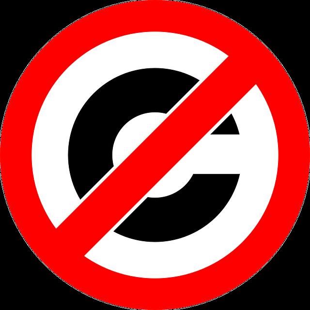Symbol s velkým písmenem C v přeškrtnutí