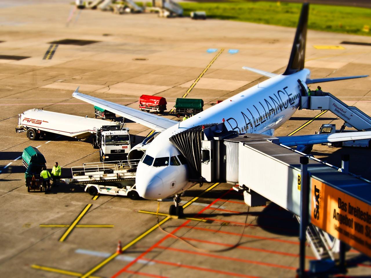nástup do letadla